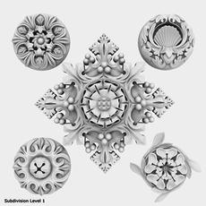 Architectural Ornament vol. 04 3D Model