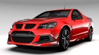 HSV Maloo R8 GEN F2 2016 3D Model