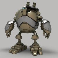 Robot 18 3D Model