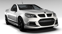 HSV Maloo R8 SV Black Gen F2 2016 3D Model
