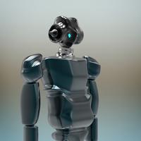 Alien Robot 3D Model