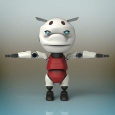 Baby Robot 3D Model
