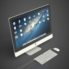 Apple iMac 3D Model