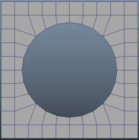Edge to Circle for Maya 1.0.0 (maya script)