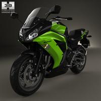 Kawasaki Ninja 650R (ER-6f) 2014 3D Model