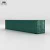Shipping Container 45' HC 3D Model