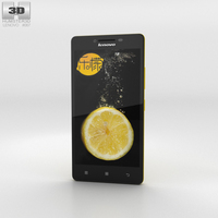 Lenovo K3 Yellow 3D Model