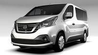 Nissan NV 300 Combi 2016 3D Model