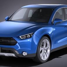 Generic SUV 2017 3D Model