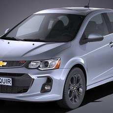Chevrolet Sonic Sedan 2017 3D Model