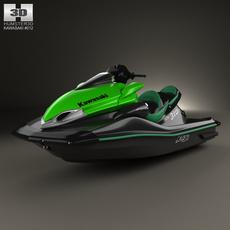 Kawasaki Ultra 310LX 2014 3D Model