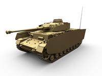 Panzer IV  Ausf. H 3D Model