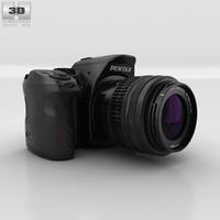 Pentax K-30 Black 3D Model