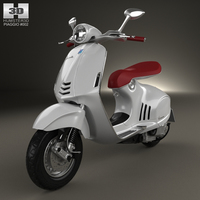 Piaggio Vespa 946 2013 Motorcycle 3D Model