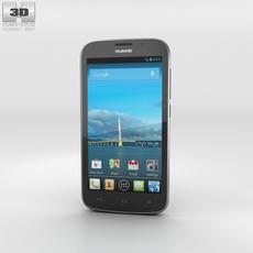 Huawei Ascend Y600 Black Phone 3D Model
