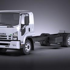 ISUZU F-series 2017 VRAY 3D Model