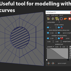 PinToCurve 1.6.4 for Maya (maya script)