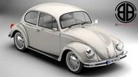 Volkswagen Beetle 2003 Ultima Edicion 3D Model