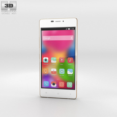 Gionee Elife S5.1 White Phone 3D Model