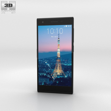 ZTE Blade Vec 4G Phone 3D Model