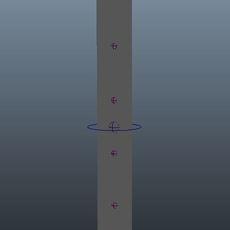 Maya Script Nurbs Spline Based Tool for Maya 0.0.1 (maya script)