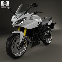 Yamaha FZ8 2013 3D Model