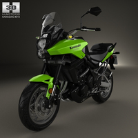 Kawasaki Versys 2014 3D Model