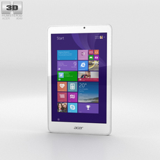 Acer Iconia Tab 8 W Phone 3D Model