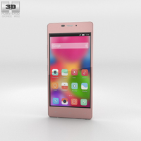 Gionee Elife S5.1 Pink Phone 3D Model