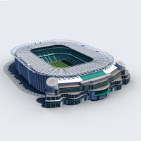 Twickenham Stadium 3D Model