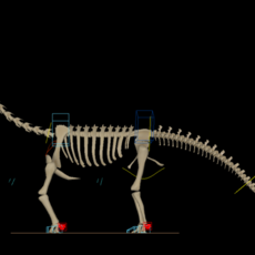 Dinosaur Skeleton + rig for Maya 1.0.0