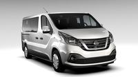 Nissan NV 300 Combi L2H1 2016 3D Model