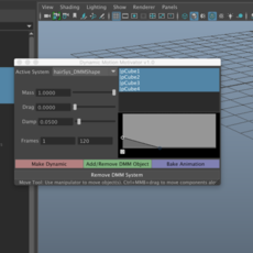 Dynamic Motion Motivator for Maya 1.0.1 (maya script)