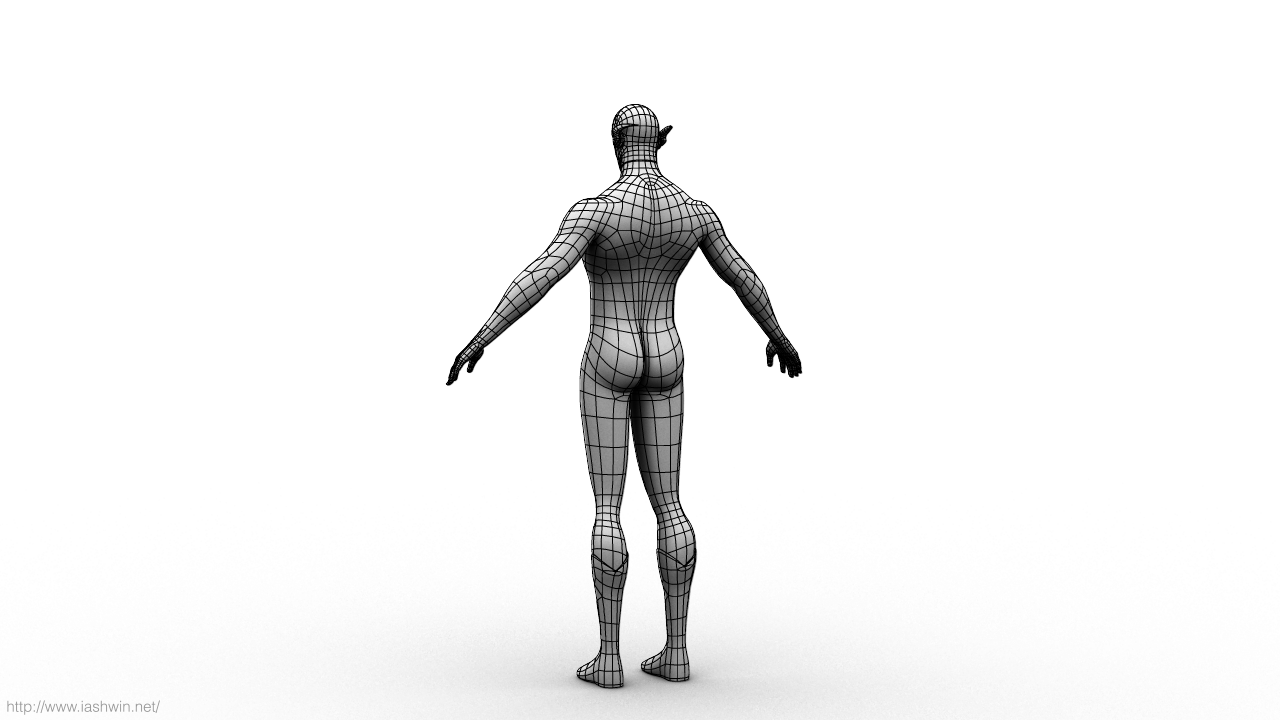 Flash (Rig) for Maya - Free Character Rigs Downloads for Maya