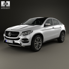 Mercedes-Benz GLE-Class coupe 2014 3D Model