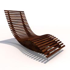 Sun Lounger - Rocker 3D Model