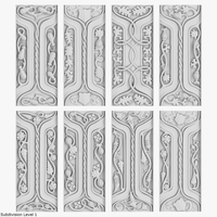 Architectural Ornament vol. 05 3D Model