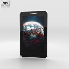 Lenovo A7-30 A3300 White Phone 3D Model