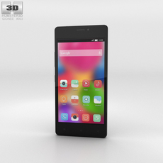 Gionee Elife S5.1 Black Phone 3D Model