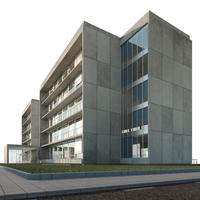Office building - Technology Park headquarters 3D Model