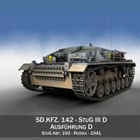 StuG III - Ausf.D - StuG.Abt. 192 3D Model