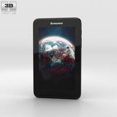 Lenovo A7-30 A3300 Black Phone 3D Model