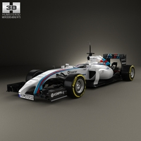 Williams FW36 2014 3D Model