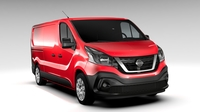 Nissan NV300 Van L2H1 2016 3D Model