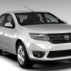 Dacia Logan 2015 3D Model