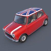 Austin Mini Cooper S British 3D Model