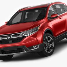 Honda CR-V 2017 3D Model