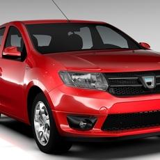 Dacia Sandero 2015 3D Model