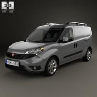 Fiat Doblo Cargo L2H1 2015 3D Model