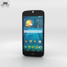 Acer Liquid Jade S Black Phone 3D Model